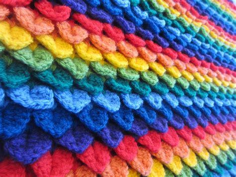 crocodile stitch knit pattern top 5 free crocodile stitch patterns