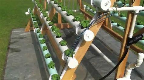 homemade vertical  frame hydroponic system facebook