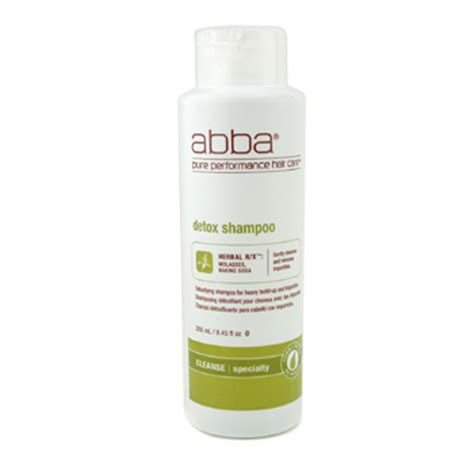 Abba Detox Shoo Ingredients by Detox Detoxifying Shoo For Heavy Build Up And