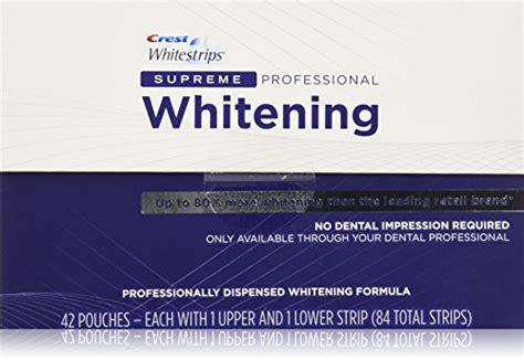 crest whitestrips supreme professional strength the best new teeth whitening systems new teeth whitening