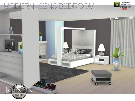 Crazy Couches modern sens bedroom at jomsims creations 187 sims 4 updates