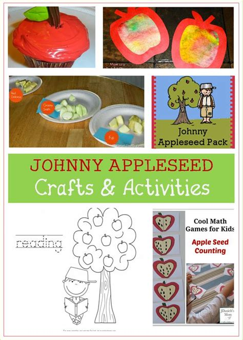 johnny appleseed crafts preschool crafts for kids johnny appleseed apple tree and activities for kids on