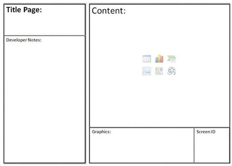 website template pdf website storyboard templates 9 free word excel pdf