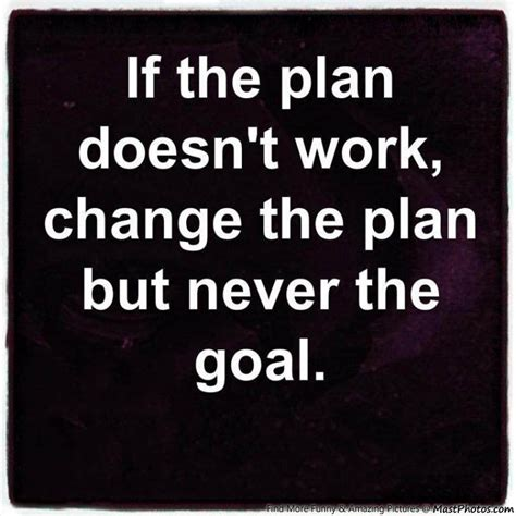 doesn t work what to do if plan doesn t work