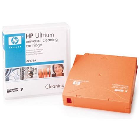 hp c7978a lto ultrium universal cleaning cartridge