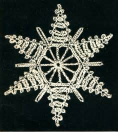 Snowflakes Free Vintage Crochet Patterns » Home Design 2017