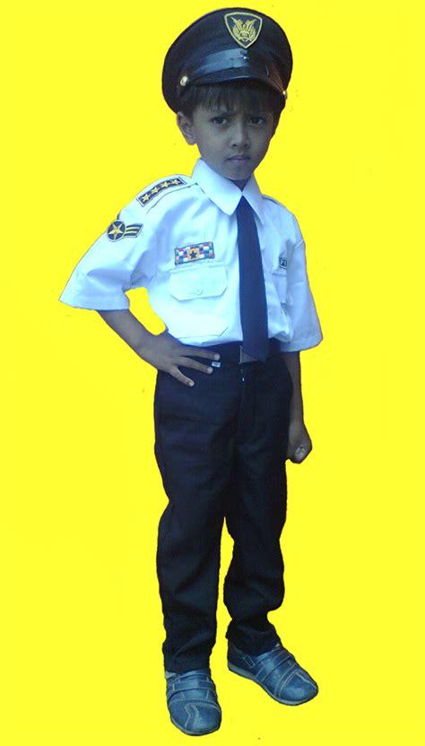 Baju Karnaval Pramugari toko baju kostum profesi anak jual baju pilot anak jual baju polisi anak jual kostum anak