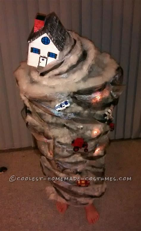 awesome homemade tornado costume