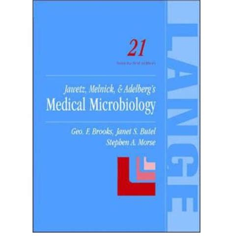 Jawetzmelnick Adelbergs Microbiology Ed27 Th C jawetz microbiology 26th edition pdf free