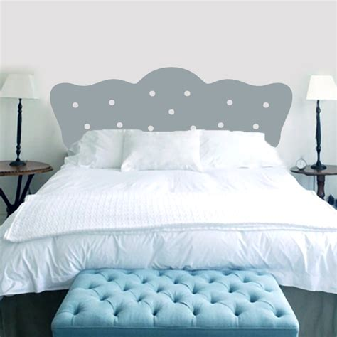 headboard wall sticker beautiful sticker headboard on button headboard bedroom