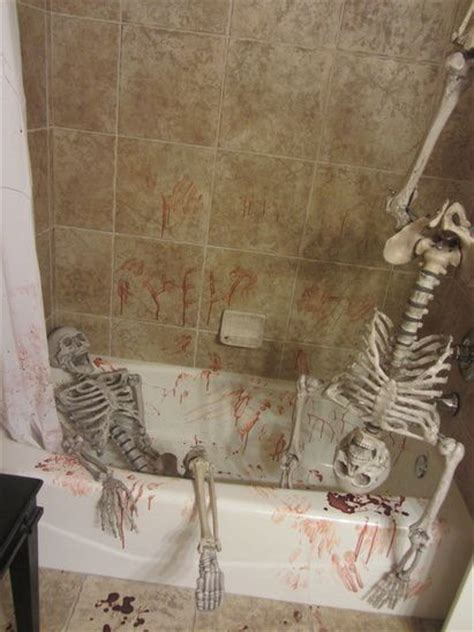 crime scene bathroom decor 207 best images about halloween bathroom decor on