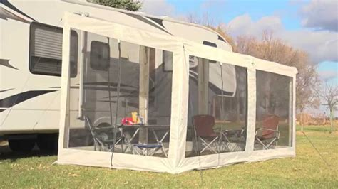 travel trailer awning screen room screen room for rv awning 28 images r pod with screen room