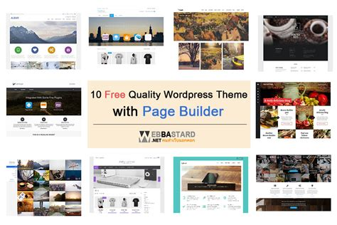 free wordpress themes page builder 10 free wordpress theme ธ มสวยๆ ท ม page builder
