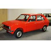 Peugeot 104 Early One At Museum In Sochaux