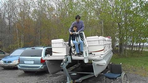 boat lift deck multi lift deck mounted boat lift for dock or boat youtube