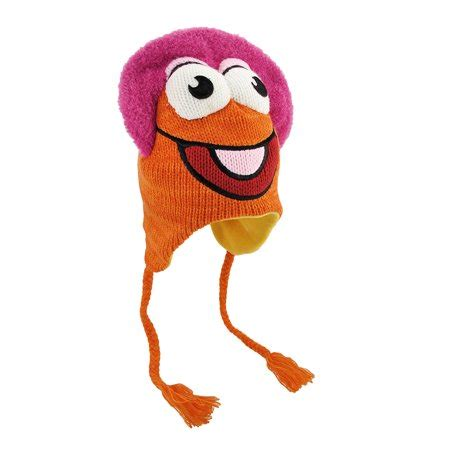 Winter Pilot Hat fraggle rock gobo knit winter pilot hat cap muppets