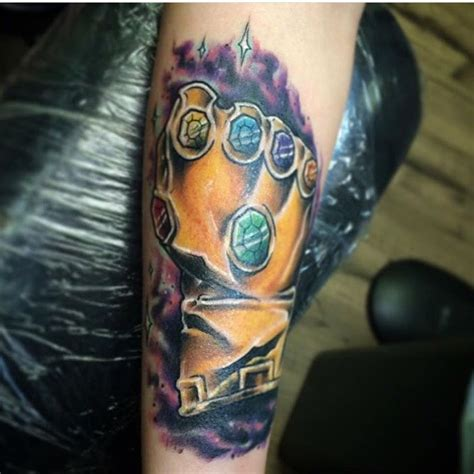 batman gauntlet tattoo tattoos org thanos infinity gauntlet done by brandon