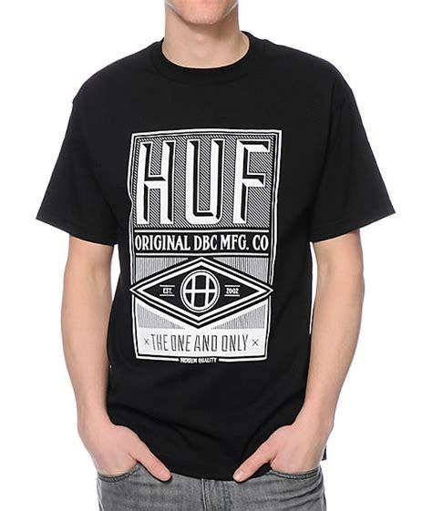 Tshirt Huf Dbc huf dbc mfg company black t shirt