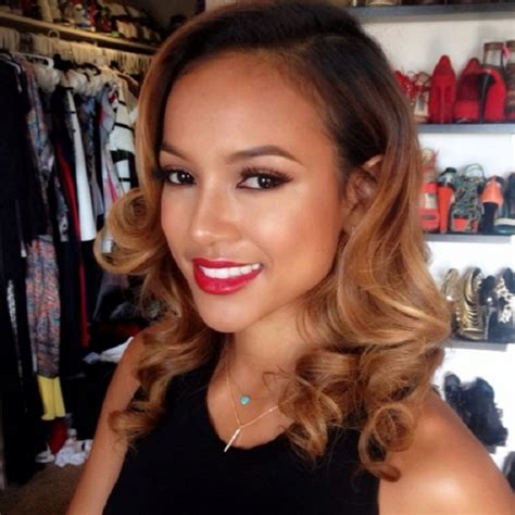 how to get karrueche wavy hair rob kardashian s 13 alleged love affairs page 9 of 13