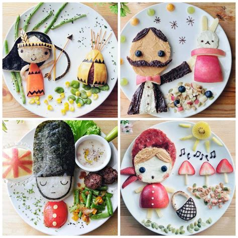 food sculptures 12 things you can make with tin cans creative food art for kids you can make yourself
