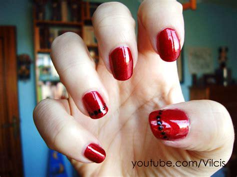 fotos de uñas de acrilico rojas u 241 as rojas imagui