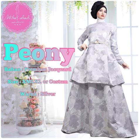 Dress Pesta Gamis Lebaran dress terbaru tanah abang insured fashion