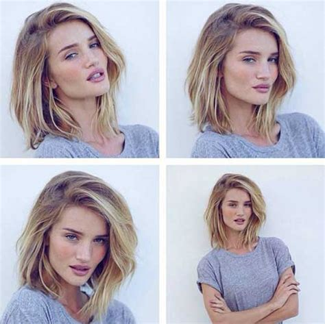 growing hair to midlenght 25 short medium length haircuts short hairstyles 2016