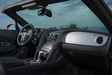 bentley continental interior 2013 bentley unveils the continental gt speed convertible