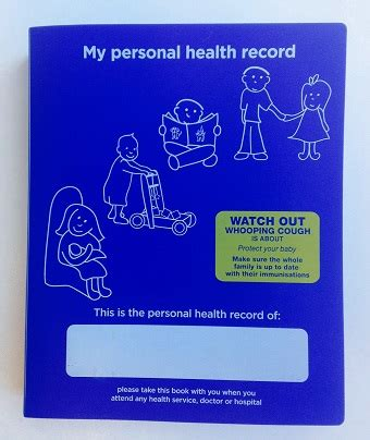 my personal health records journal books survey on the blue book from nsw health sydney