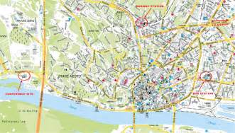map of citys bratislava city map