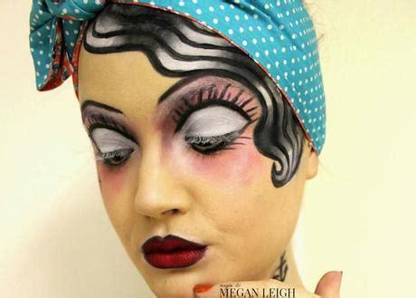 old school makeup tattoo classic tattoo pin up girl halloween makeup paperblog