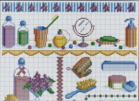 17 best images about bathroom cross stitch on pinterest