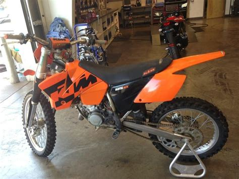 2004 Ktm 125 Sx Buy 2004 Ktm Sx 125 Dirt Bike On 2040 Motos
