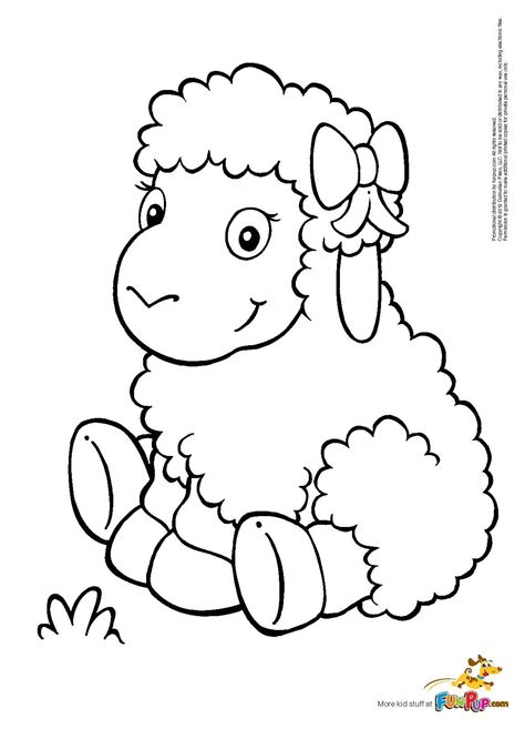 cute lamb coloring pages the gallery for gt cute lamb coloring pages