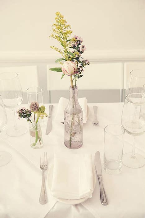 Glass Vases Centerpieces Ideas Minimalist Wedding Ideas