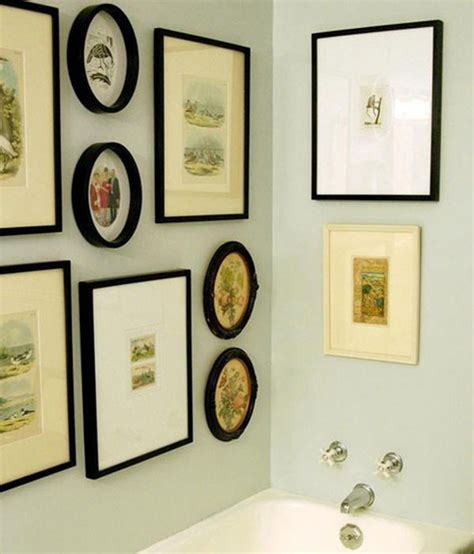 bathroom pictures to hang on wall just call it the loovre 15 ways to hang art in the
