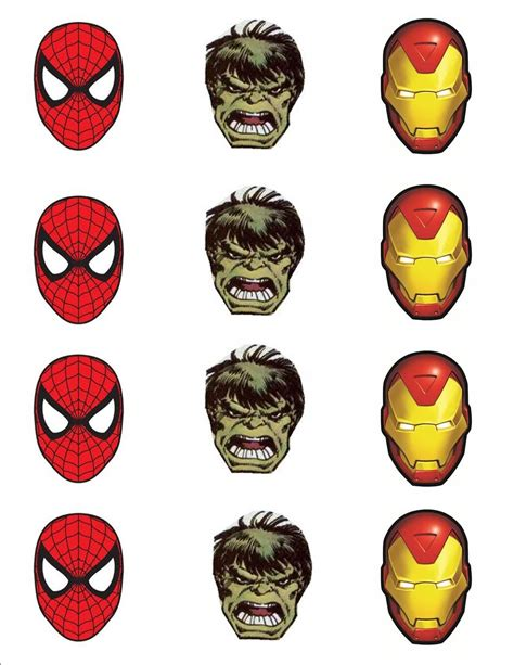 marvel heroes printable pictures popsicle marvel heroes with free printable target gift