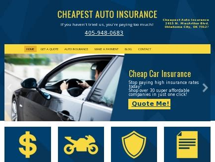 Inexpensive Auto Insurance by Cheapest Auto Insurance Affordable Car Insurance