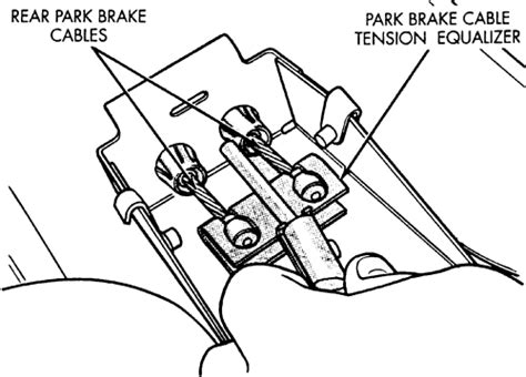 repair anti lock braking 1999 chrysler cirrus parking system repair guides parking brake cable autozone com