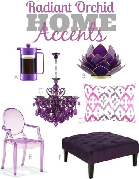 Radiant Orchid Home Decor radiant orchid home accents