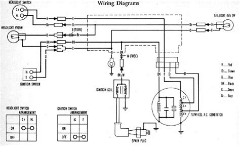 honda 50 wiring diagram