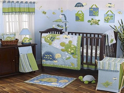 Turtle Crib Bedding Set Turtle Nursery Bedding Thenurseries