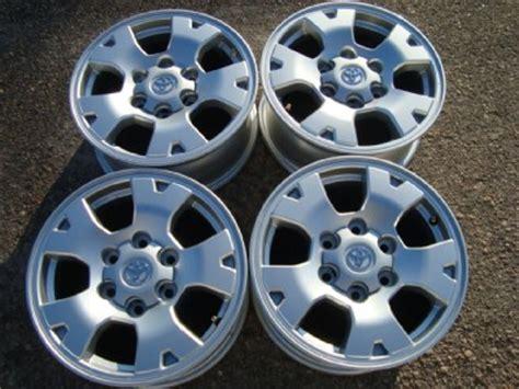 Toyota Tacoma Factory Wheels 4 Toyota Tacoma Factory 16 Quot Aluminum Wheels Ebay