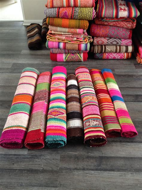 Colorful Rug Runners by Frazada Runners Rugs Colorful Blankets You Choose