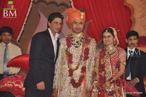 shahrukh khan wedding album www shahrukh khan saurabh dhoot s wedding reception photo 695