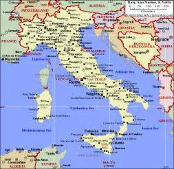 Italy Map by Political Map Of Italy And Malta Southern Italy Travels