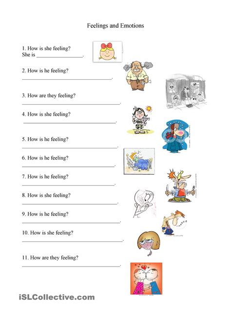 Emotions Worksheets by Feelings And Emotions Worksheet Sentimientos Y Emociones Worksheets Feelings