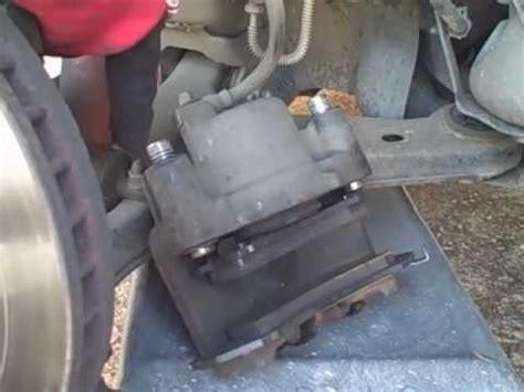 how to change brakes, rotors (camaro) youtube