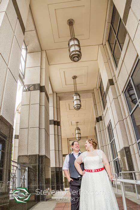 intimate downtown orlando courthouse wedding photographer