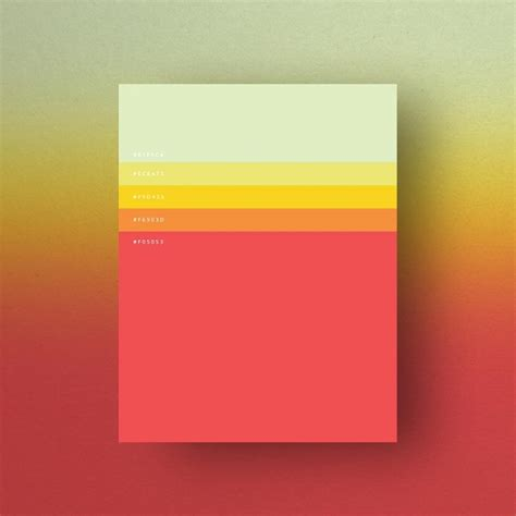 most popular color schemes gorgeous color palettes based on the most popular colors